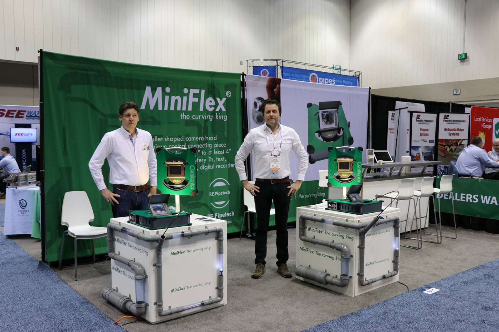 MiniFlex in USA, WWET Show 22-24 February, Indianapolis